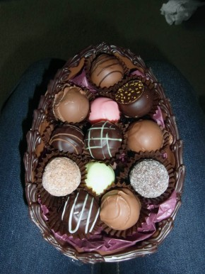A gluten free Easter with Melchior handmade posh chocolates!