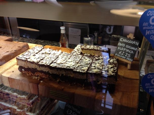 Gluten free coconut slice - Steve's favourite!