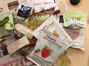 Nutribox review – gluten free, healthy snacks for the workplace