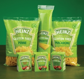 WIN gluten free pasta and pasta sauces from Heinz!