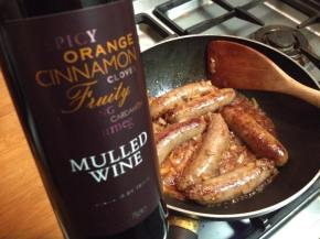 Gluten free sausage, bean and mulled wine casserolerecipe