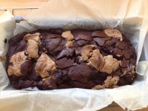 Recipe: Gluten free post-workout chocolate pumpkin brownie
