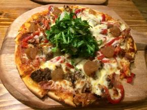 Gluten free pizzas at Pig on the Hill, WestwardHo!