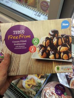 Free From Christmas foods in Asda, Tesco and Sainsbury's