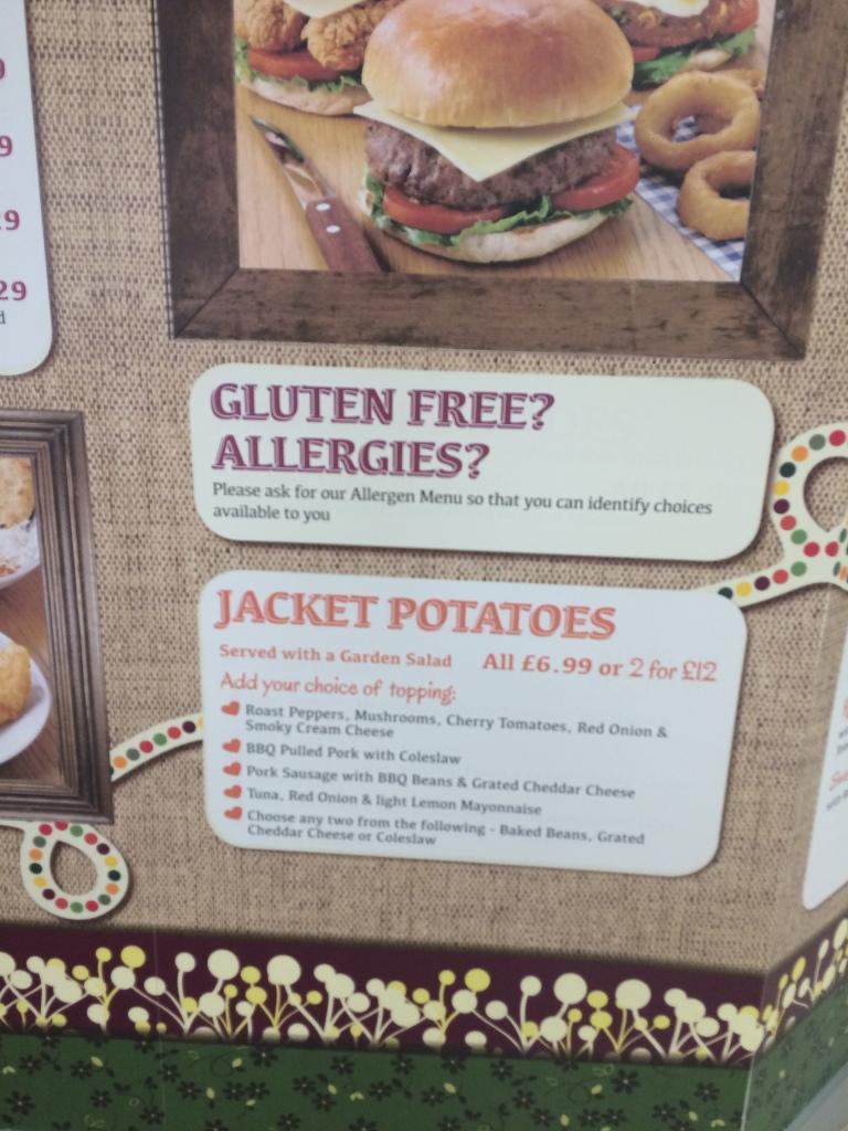 taunton deane gluten free