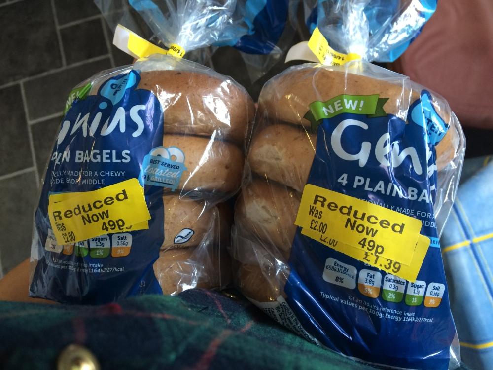 genius gluten free bagels