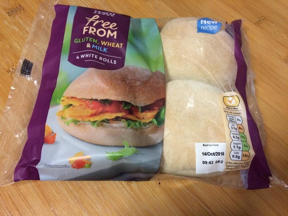 gluten free white bread rolls