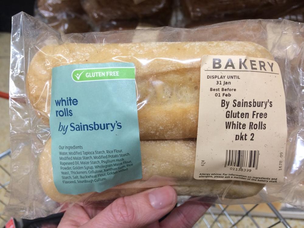 sainsburys bakery gluten free fresh bread